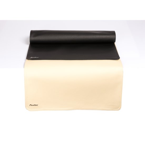 Pavelinni tafelloper Classic 45x120cm Black/Beige