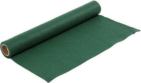 Hobby vilt groen 1,5 mm dik