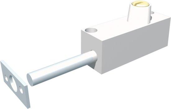 SecuProducts - SecuMax - Schuifpuislot 807 - zilvergrijs
