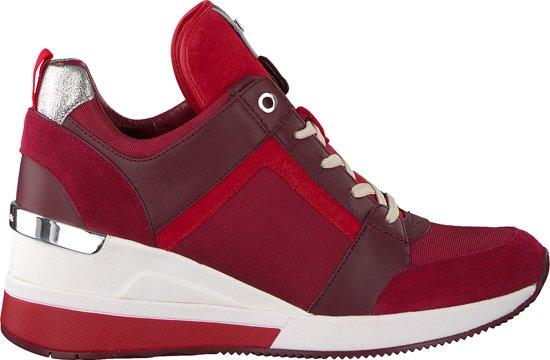 9cd0dff4e84 bol.com | Michael Kors Dames Sneakers Georgie Trainer - Rood - Maat 38,5