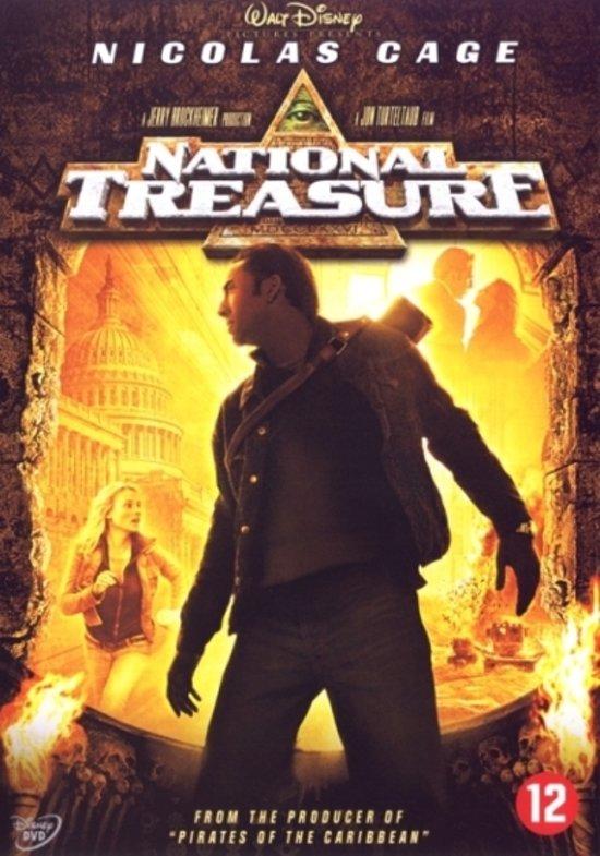 Cover van de film 'National Treasure'