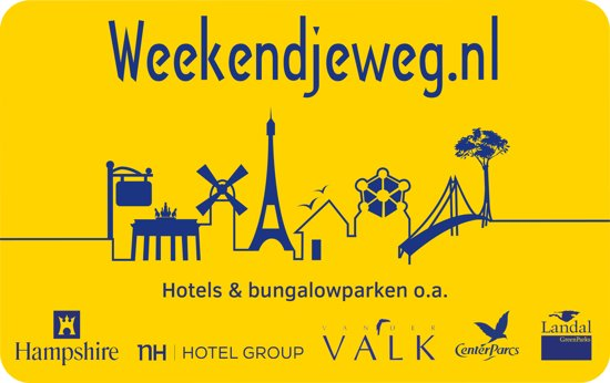 Extreem bol.com   Weekendjeweg.nl Cadeau Card - 50 euro &RK85
