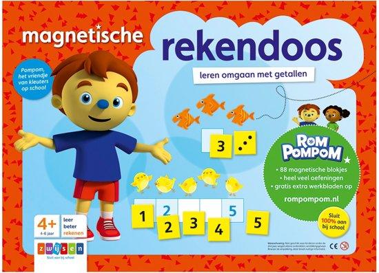 Boek cover Rompompom - Magnetische rekendoos van Katrien van Schuylenbergh (Onbekend)