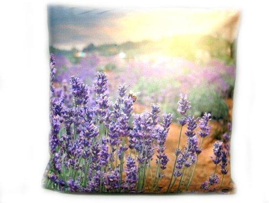 Sierkussen lavendel thema cadeaus tuin natuur Frankrijk