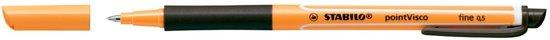 33x Stabilo roller Point Visco zwart