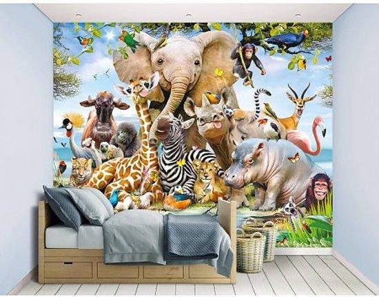 Kinderkamer Jungle Behang : Bol walltastic jungle safari behang cm