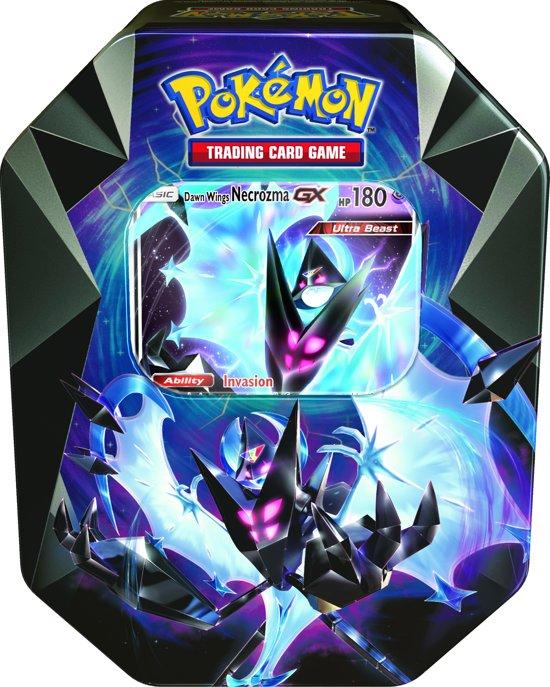 Kleurplaten Van Pokemon Kaarten.Pokemon Prism Tin Dawn Wings Necrozma Gx Pokemon Kaarten