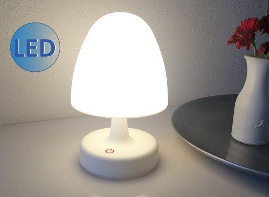 Tweedehands Design Lampen : Bol oplaadbare design led lamp wit