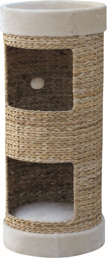 Nobby - Krabton - Lazy Extra - Beige - 100 cm hoog - diameter 42 cm