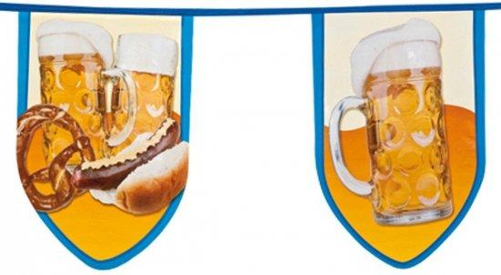 Oktoberfest Grote bierfeest vlaggenlijn 8 meter