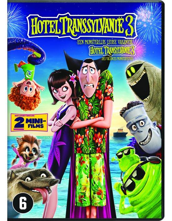 DVD cover van Hotel Transsylvanië 3: Een Monsterlijk Leuke Vakantie