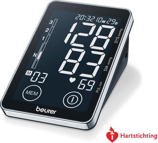 Beurer BM58 - Bloeddrukmeter bovenarm touchscreen