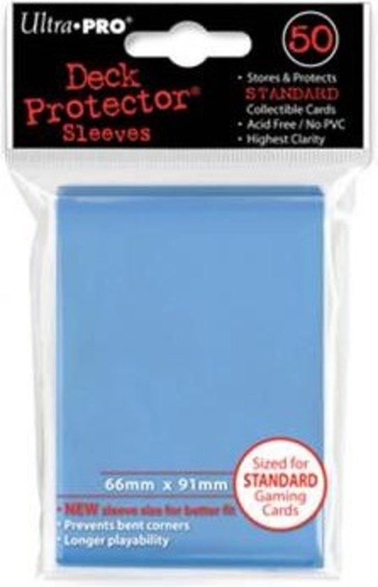 Afbeelding van het spel Standaard Deck Protector Sleeves Light Blue (50st.)