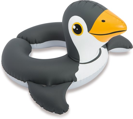 Opblaasband - Zwemring Junior - Intex - Pinguïn