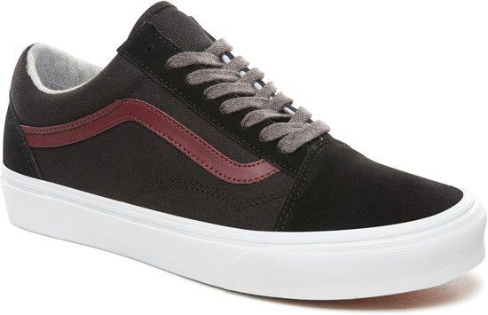 Lace Vans Ua Old port Maat Black UnisexJersey 36 Skool Sneakers xhQrtsdCB