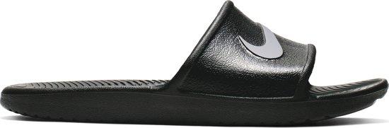46 Unisex Shower Kawa Zwart Nike Maat Slippers PawTTY
