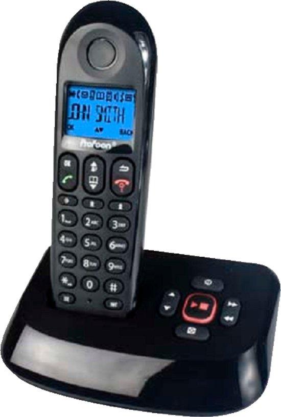 Profoon PDX-8115 - DECT Telefoon + beantw. - Zwart