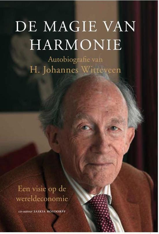 Boek cover De magie van harmonie van H. Johannes Witteveen (Hardcover)