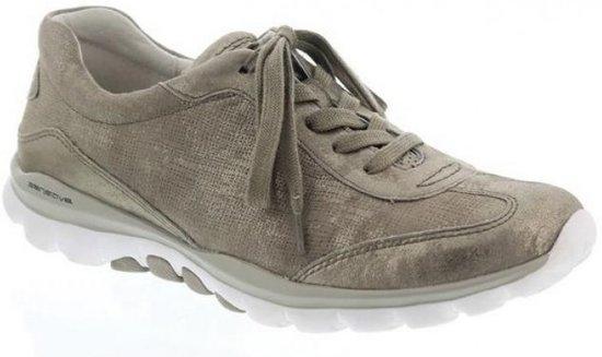 965 Sneaker Voor Dames 32 Lederen Gabor Rollingsoft TaupeMaat 46 40 5 Canvas lFJTK1c3
