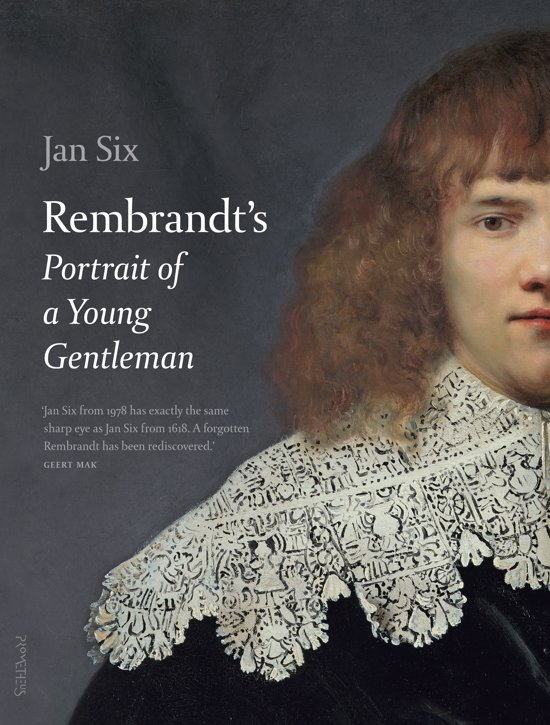 Jan Six, Rembrandt's portrait of a young gentleman
