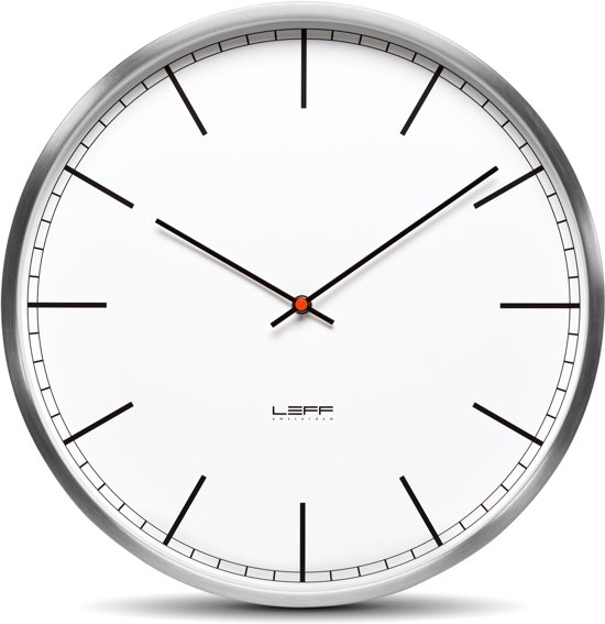 LEFF amsterdam One Index Wandklok à 25 cm