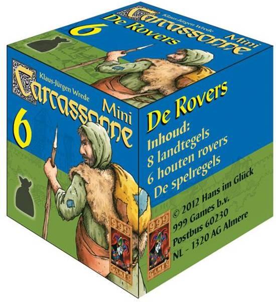 Afbeelding van het spel Carcassonne: Mini Uitbreiding De Rovers