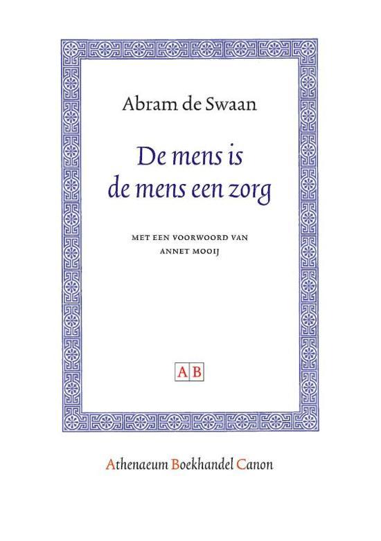 Athenaeum Boekhandel Canon - De mens is de mens een zorg