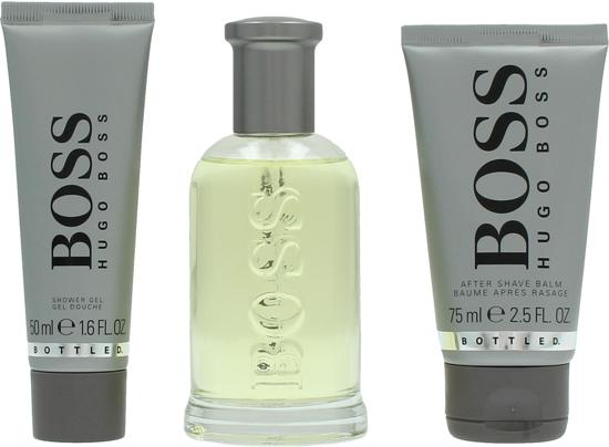 Hugo Boss Bottled - Geschenkset - 100ml Eau de toilette + 75ml aftershave + 50ml showergel - for Men