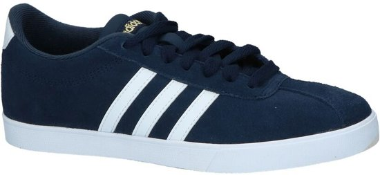 Adidas - Courtset W - Sneaker laag sportief - Dames - Maat 41 -  Blauw;Blauwe - Collegiate Navy