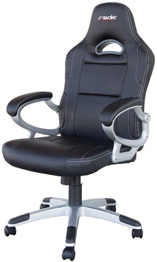 Bureaustoel Met Verstelbare Rugleuning.Bol Com Simoni Racing Bureaustoel Verstelbare Rugleuning 80 Cm Zwart