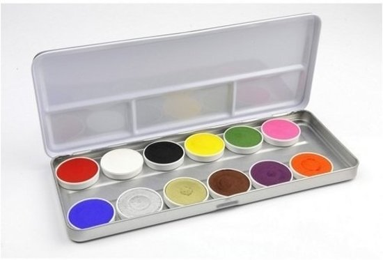 Schmink palet 12 kleuren