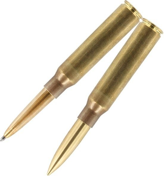 .338 Kogelpatroon Space Pen, Messing