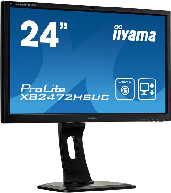 iiyama ProLite XB2472HSUC-B1 23.6'' Full HD LED Mat Flat Zwart computer monitor LED display