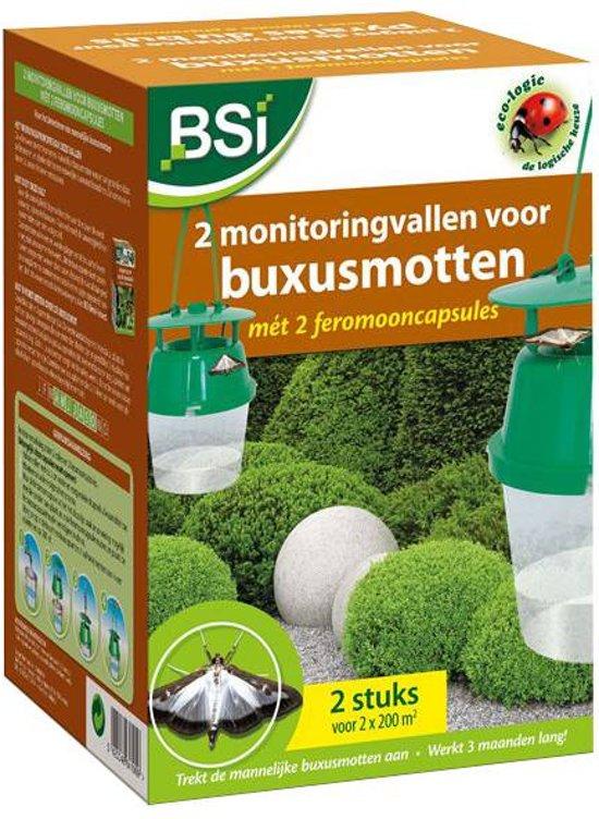 2 feromoonvallen inclusief 2 feromooncapsules: tegen de buxusmot