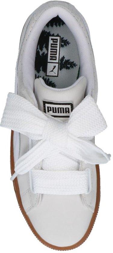 Puma Sneakers Witte Heart Basket Heart Sneakers Basket Witte Puma Witte Sneakers Heart Puma Basket 1SwYHfqOxx
