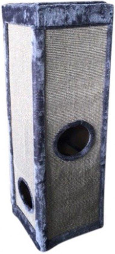Topmast Krabpaal  Rockpalace Griijs 40 * 40 * 120 cm