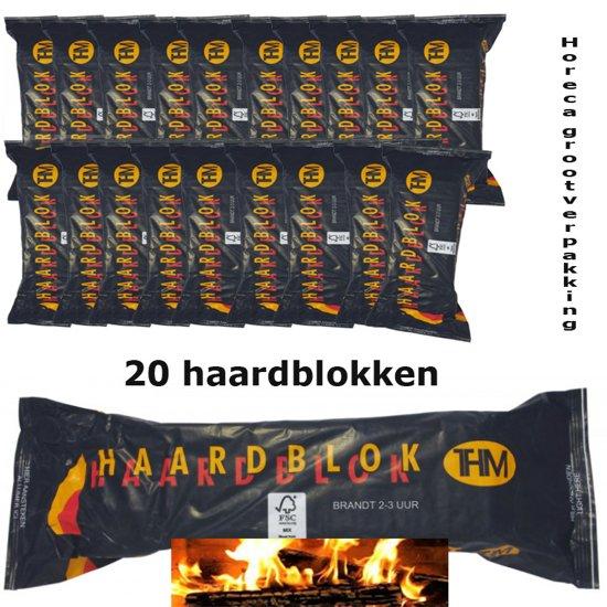 Verwonderend bol.com | Haardblokken 20 stuks horecagrootverpakking EH-58