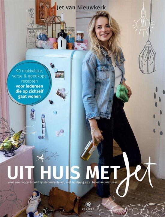 Boek cover Uit huis met Jet van Jet van Nieuwkerk (Onbekend)