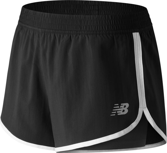 New Balance Accelerate 2Intrain Sportshort Dames - Black