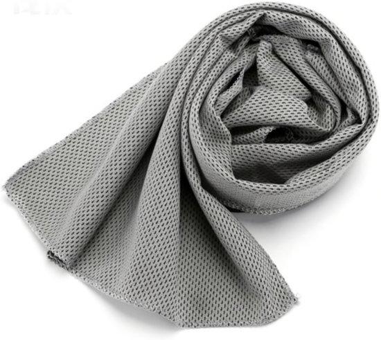 Ice Towel - cool towel - ijshanddoek - 30x100cm - Grijs