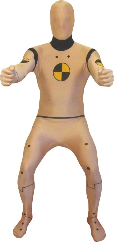 Crash test dummy Morphsuits� kostuum - Verkleedkleding - 152/160