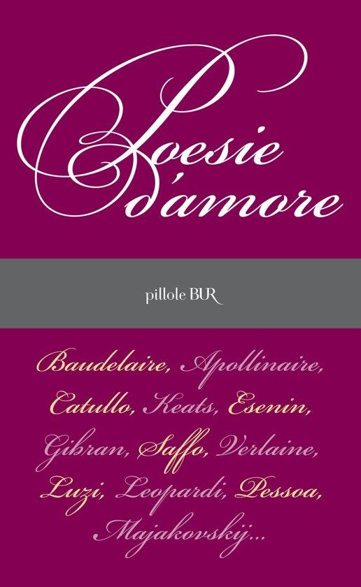 Bolcom Poesie Damore Ebook Aavv 9788858657416 Boeken