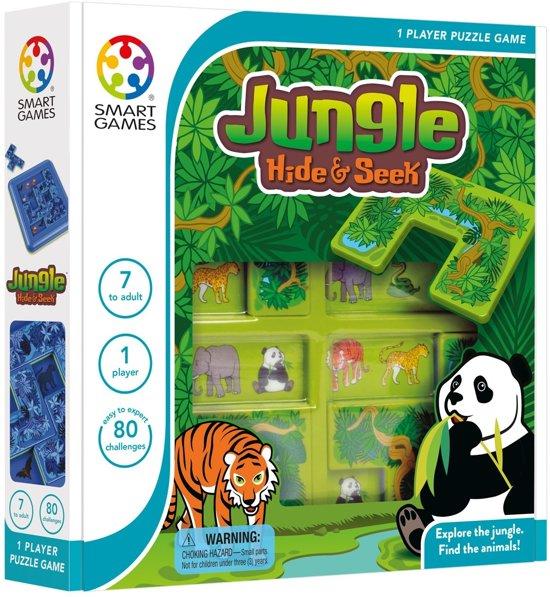 Afbeelding van het spel Smart Games Hide & Seek Jungle (80 opdrachten)