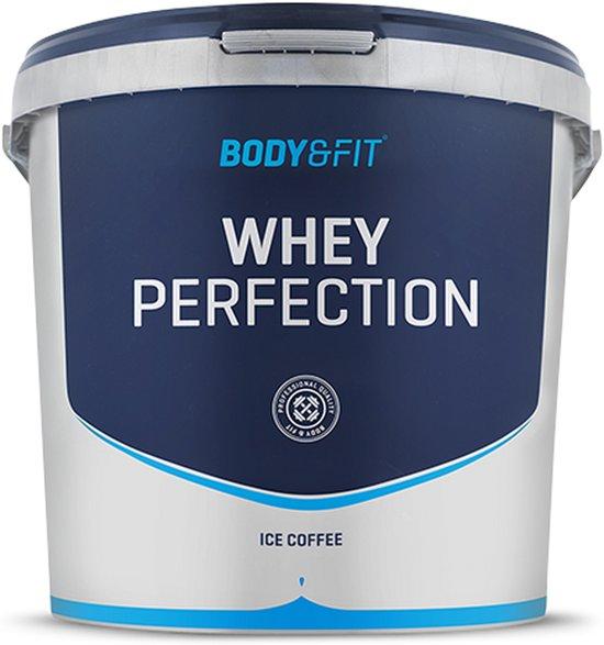 Body & Fit Whey Perfection - Eiwitpoeder / Eiwitshake - 4540 gram - Ice  Coffee Milkshake