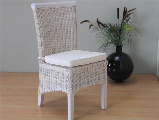 Stoel Rotan Wit : Bol larissa rotan stoel wit