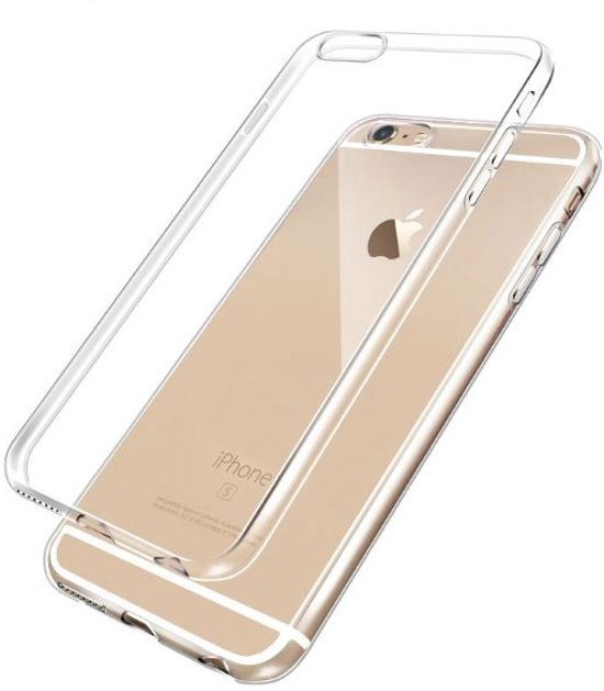 MT Deals - Apple iPhone 7 siliconen hoesje transparant - zachte hoesje - soft case