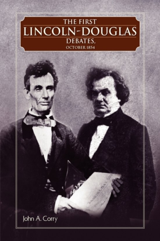 abraham lincoln first debate with stephen In an effort to secure their own appointments to the us senate, abraham lincoln and stephen douglas squared off in a series of seven debates in 1858.