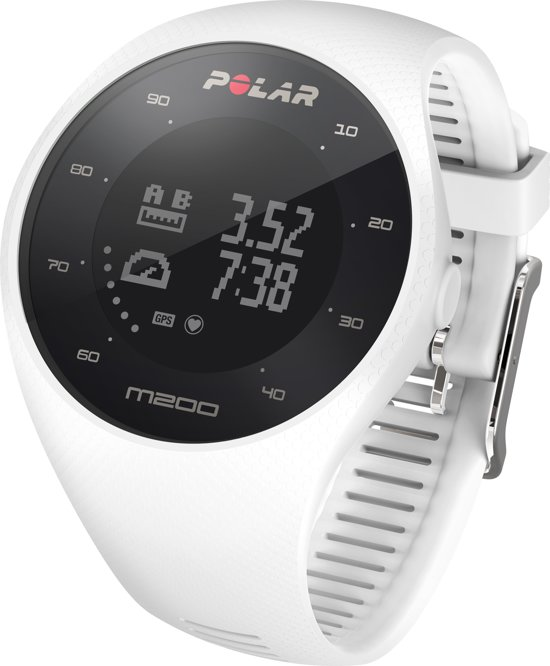 Polar M200 - Hardloophorloge - GPS - Wit - Medium/Large