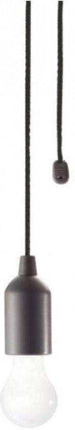 Uitgelezene bol.com | Vdm Hanglamp Met Trekkoord Led Batterij Zwart ZX-36