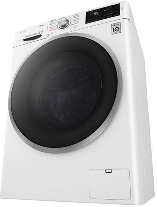 LG FH4J6QS7 Vrijstaand Voorbelading 7kg 1400RPM A+++-30% Wit wasmachine